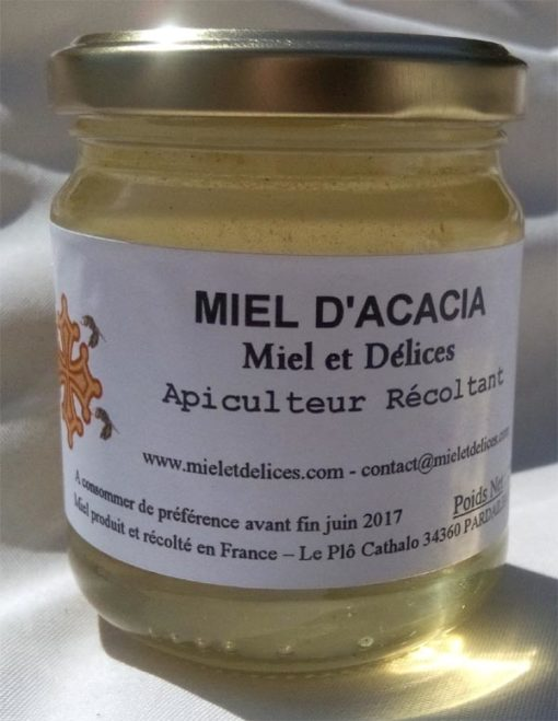 Miel et Délices apiculteur récoltant, vente en ligne d'acacia