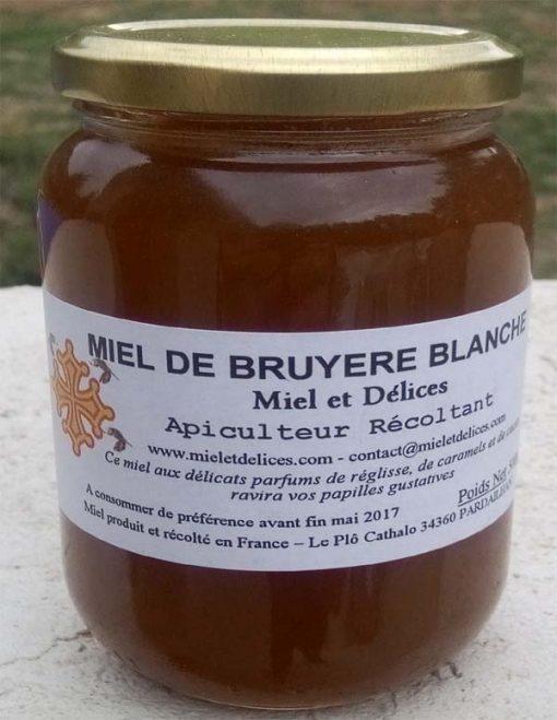 Miel et Délices : vente de miel de bruyère blanche en ligne