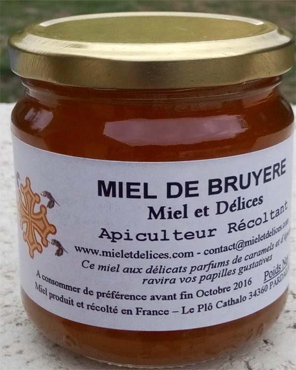 Miel et Délices : vente de miel de bruyère d'été en ligne