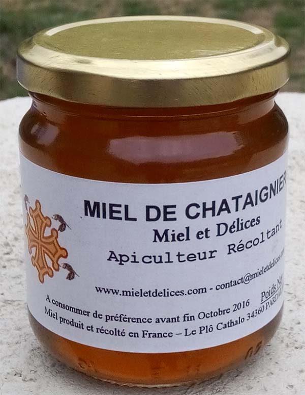 Miel et Délices, vente de miel de chataignier en ligne