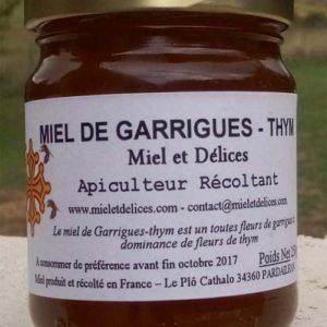 Miel et Délices : vente de miel de garrigues - Thym en ligne