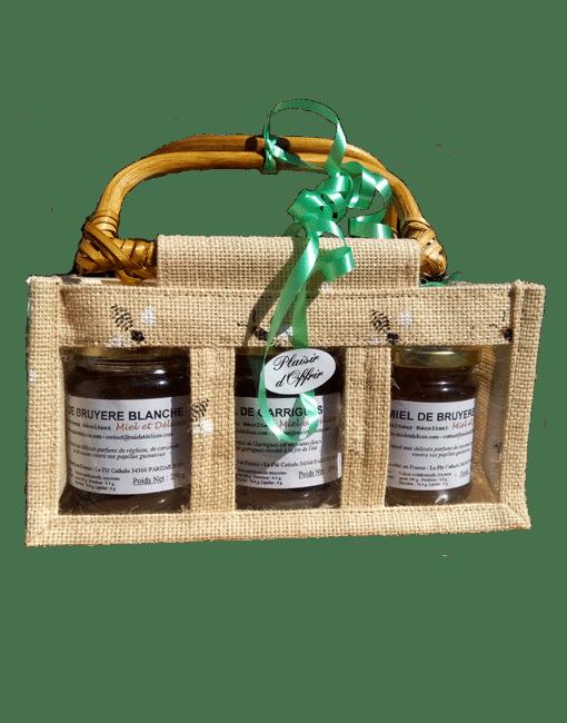 coffret 3 - vente de miel