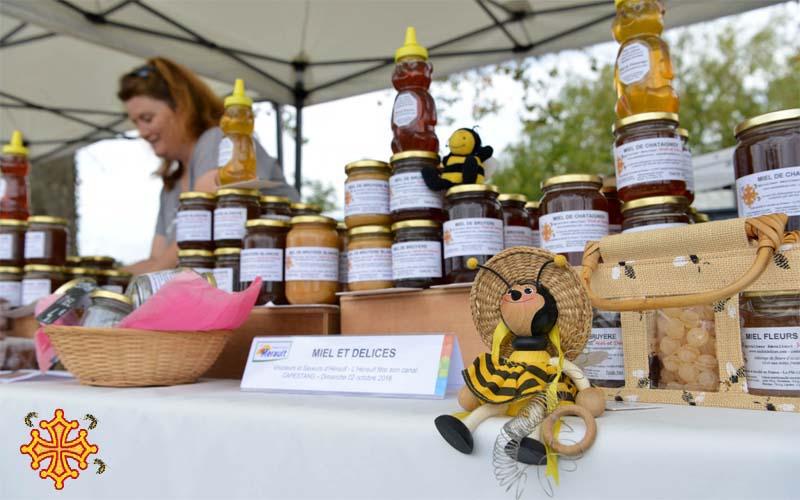 Vente de miel en ligne et de produits transformés (pain d'épices, bonbons) Miel et Délices apiculteur récoltant au coeur de l'occitanie