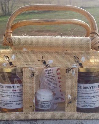 Coffret bien etre par Miel et Délices, vente de miel